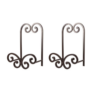 Carrousel Rustic 11-Inch Easel, Set of Two