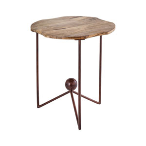 Americana Antique Palonia 15-Inch Side Table