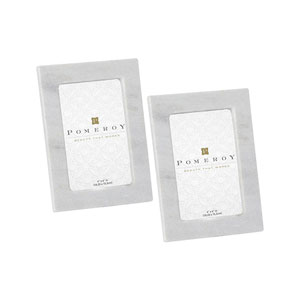 Plymouth White Picture Frame, Set of Two