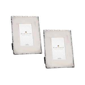 Elise Silver Picture Frame, Set of Two