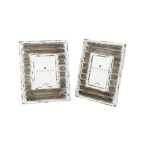 Hudgens Weathered White Picture Frame