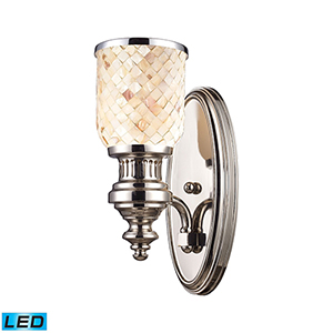 Chadwick Polished Nickel LED Wall Sconce