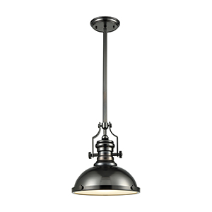 Chadwick Black Nickel Three-Light Pendant
