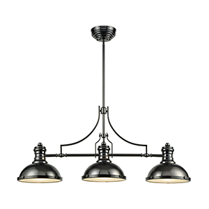Chadwick Black Nickel One-Light Island Pendant