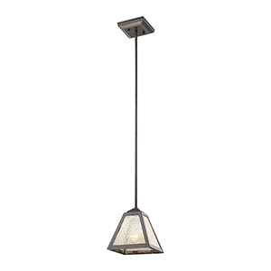 Plano Rust Iron One-Light Mini Pendant