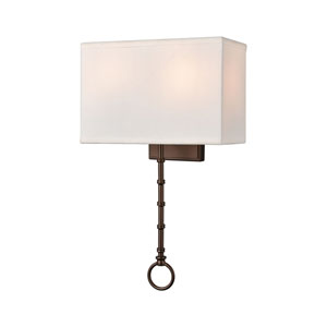 Shannon Oil Rubbed Bronze Two-Light Wall Sconce