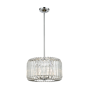 Beaumont Polished Chrome Four-Light Pendant