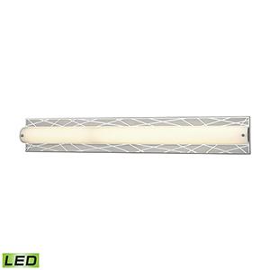 Captiva Polished Stainless and Matte Nickel 40W LED Vanity Light