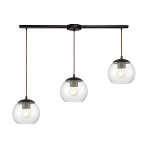 Kendal Oil Rubbed Bronze Three-Light Pendant