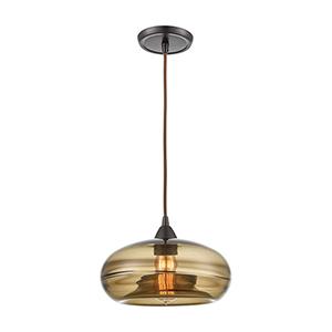 Hazelton Oil Rubbed Bronze One-Light Pendant