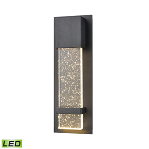 Emode Matte Black LED ADA Wall Sconce