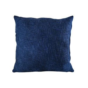 Tystour Deep Navy Blue Accent Pillow