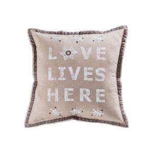Hearth Crema Accent Pillow