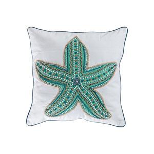Caspian Crema Accent Pillow