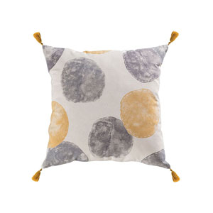 Norfolk Grey Accent Pillow