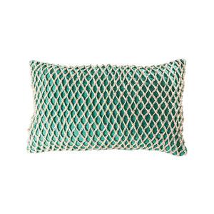Cassio Aqua Accent Pillow