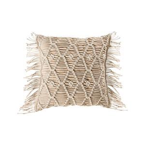 Hannah Crema Accent Pillow