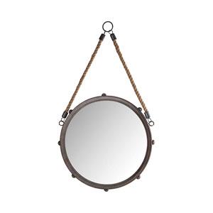 Tabern French Antique Copper 12-Inch Wall Mirror