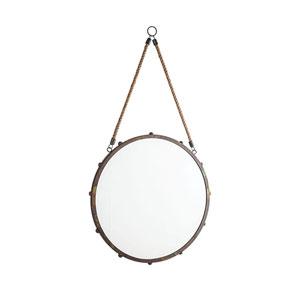 Tabern French Antique Copper 17-Inch Wall Mirror