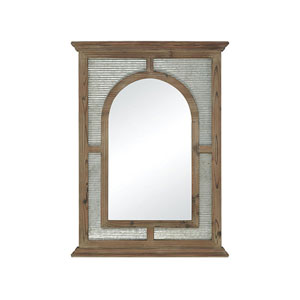 Carville Galvanized Wall Mirror