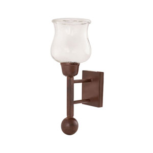 Mission Montana Rustic Candle Holder Wall Sconce