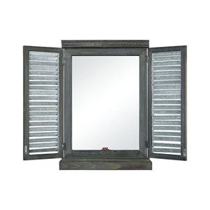 Avery Hill Galvanized Wall Mirror