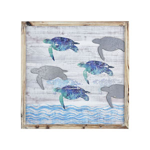 Cool Waters 23-Inch Wall Art