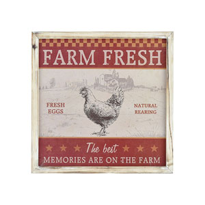 Farm Memories Crema Wall Art