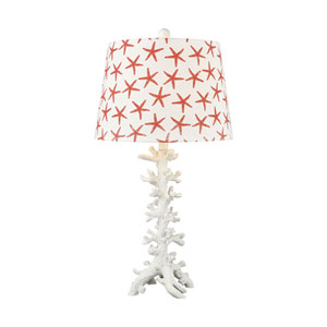 Reef White 28-Inch One-Light Table Lamp