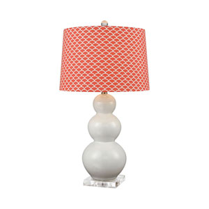 Ava Coral One-Light Table Lamp