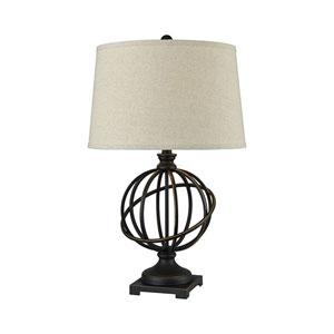 Bosworth Madison Bronze One-Light Table Lamp
