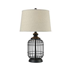 Chamberlin Madison Bronze One-Light Table Lamp