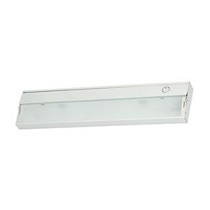 ZeeLite White Two-Light LED Under Cabinet