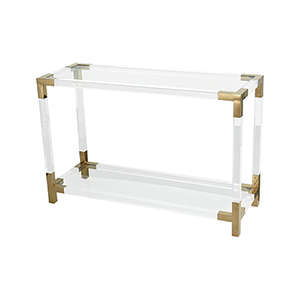 Equity Gold Plated Stainless Steel Console Table