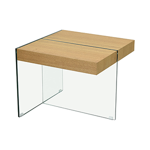 The Func Walnut Accent Table