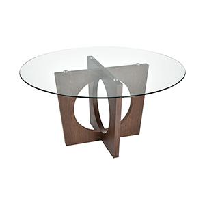Atria Dining Walnut Dining Table