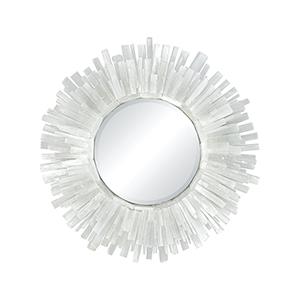 Shiverpeak Natural Rock Crystal Frame Mirror