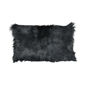Bareback Pillow Black Accent Pillow
