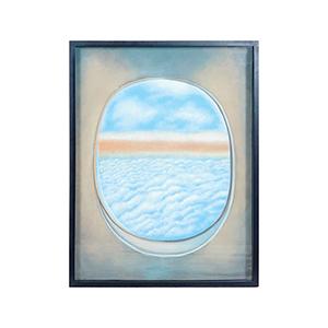 Plane Window I Multi-Color Wall Art