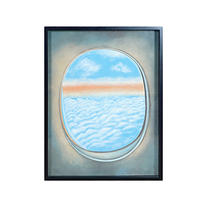 Plane Window Iii Multi-Color Wall Art