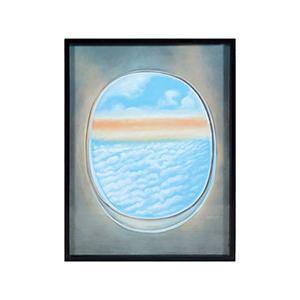 Plane Window V Multi-Color Wall Art