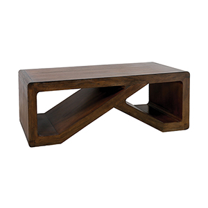 Clip Brown Stain Coffee Table