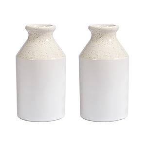 Squashmeadow White Jar-Set of 2