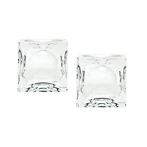 Mirror Candle Holder- Set of 2