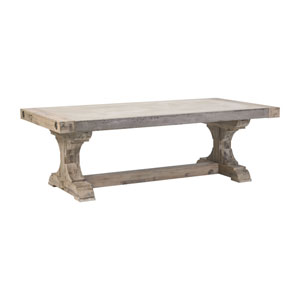 Pirate Concrete and Atlantic Brushed Wood Coffee Table