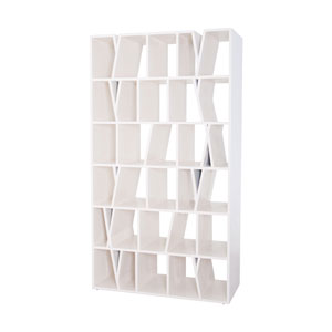 Fragment Cappuccino Foam Bookshelf