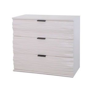 Shale Cappuccino Foam 3 Drawer Chest