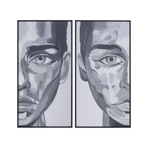 Portrait Diptypch Wall Art