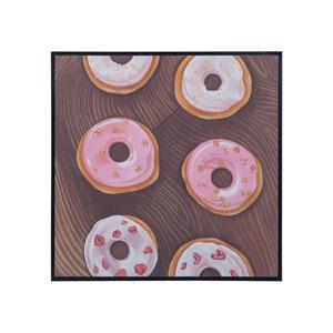 Pink Donuts Wall Art