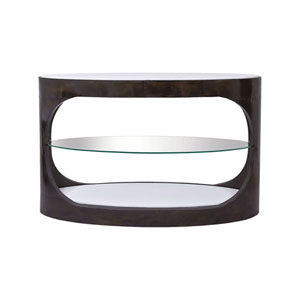 Mister Heritage Grey Stain Clean and Gold Plated Console Table